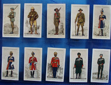 Military Uniforms Player and Sons Cards