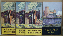 1930 Sweden Booklets four of them featuring covers by Oscar Hullgren