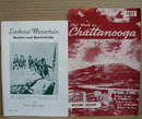 Chattanooga Visitors booklet and Lookout Mountain battlefields book