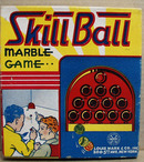 Skill Ball Marble game by Louis Marx and co