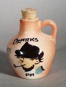 Little Brown mini Jug Ozarks Pa