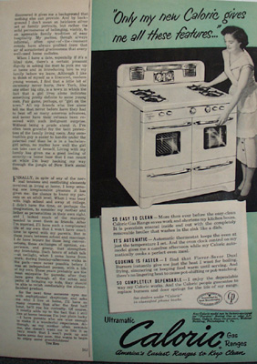 Antiques art vintage - Clean gas range keep looking new ...