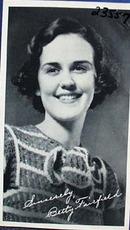 Betty Fairfield photo movie card , studio signed