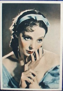 Jessie Mathews 1930s postcard ,