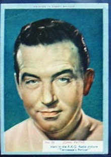 1940s movie card John Payne no 20,