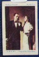 1940s movie card William Powell and Loy