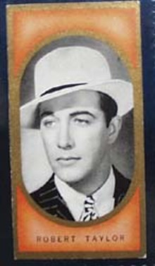 1938 Robert Taylor Film Favourites Card, This is no 6