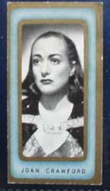 1938 Joan Crawford Film Favourites Card,