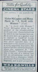 1931 Victor McLaglen and Mona Maris