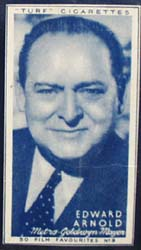 1949 Edward Arnold movie card