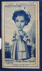 1949 Characture Margaret Leighton  movie card
