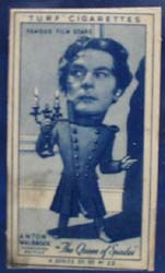 1949 Characture Anton Walbrook  movie card
