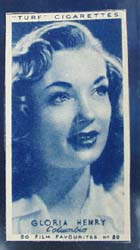 1949 Gloria Henry  movie card