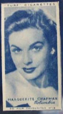 1949 Marguerite Chapman movie card
