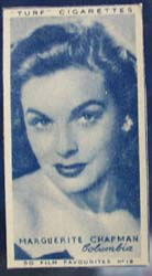 1949 Marguerite Chapman movie card