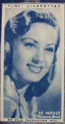 1949 Jane Harker movie card
