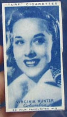 1949 Virginia Hunter movie card