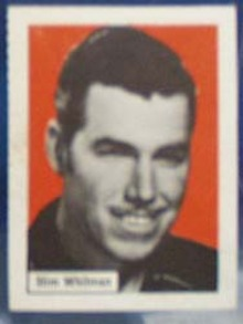 Slim Whitman Record Label card, 1950s