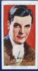 Barry Mackay Film Stars Movie Card