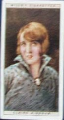 Claire Windsor Film Stars Movie Card