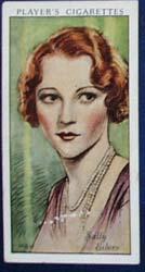Sally Eilers  Film Stars Movie Card