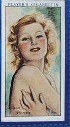 Lilian Harvey Film Stars Movie Card