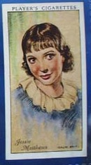 Jessie Mathews Film Stars Movie Card