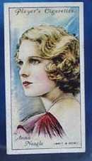 Anna Neagle Film Stars Movie Card