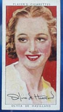 Olivia De Havilland Film Stars Movie Card