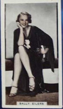 Sally Eilers Stage and Cinema Beauty Card 1933,