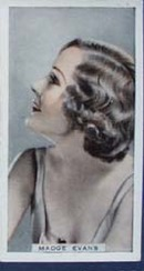 Madge Evans Stage and Cinema Beauty Card 1933