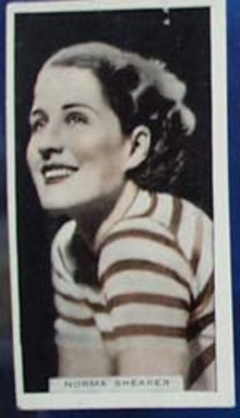 Norma Shearer Stage and Cinema Beauty Card 1933,