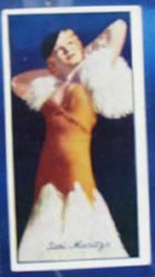 Sari Maritza Famous Film Star Card 1935