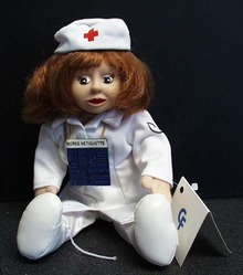 Nurse Netiquette Computer Friends Doll