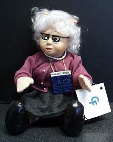 Miss Spell Check teacher  Computer Friends Doll