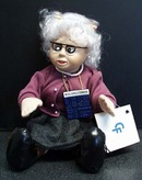 Miss Spell Check teacher  Computer Friends Doll