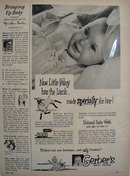 Gerbers Baby Foods Mary Has The Lamb Ad 1951
