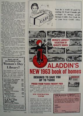Aladdins Book Of Homes Ad 1963