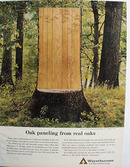 Weyerhaeuser Paneling From Real Oaks Ad 1964
