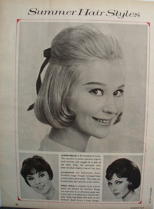 Summer Hair Styles For Women Ad 1964