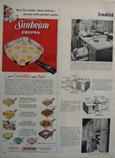 Sunbeam Frypan Christmas Ad 1957