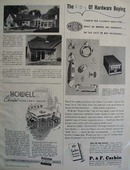 P F Corbin Door Hardware Ad 1946