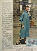 Lassie Maid Coat Photographed In Quebec Ad 1953