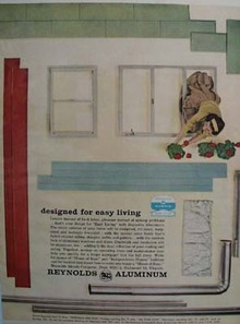 Reynolds Aluminum Siding, Windows Ad 1960