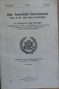 Our American Government Doc 386, 171 questions