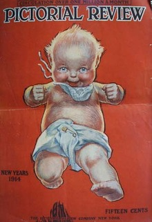 New Years Baby 1914 or Cream of Wheat ad