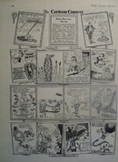 Cartoon Contest How Joe Was Saved 1932
