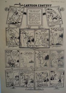 Cartoon Contest How They Saved The Traveler 1939