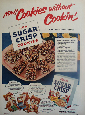 Posts Sugar Crisp And Cookie Ad 1954