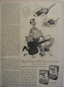 Wheat Chex Father Carrying Chair Ad 1954